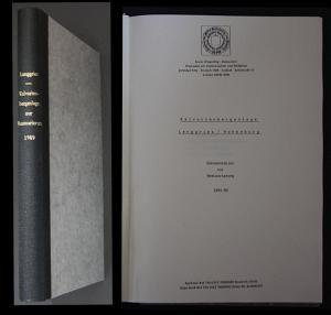 Kalvarienberganlage. Lenggries / Hohenburg. Dokumentation zur Restaurierung 1984-89.