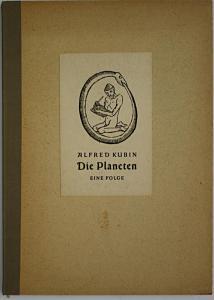Die Planeten. Eine Folge von Alfred Kubin.
