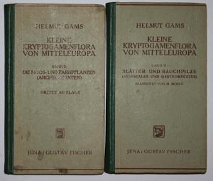 Kleine Kryptogamenflora von Mitteleuropa. 2 Bände. Band 1: Die Moos- und Farnpflanzen (Archegoniaten), dritte