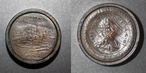 München / Carl. Alb. D. G. H. I. B. C. &. - Spielstein game counter game piece Spielsteine alte Spiele antique