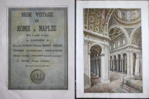 Mon Voyage de Rome à Naples fait en pied en 1821 en compagnie de Léopold Robert Peintre, Barbot, Benois, Thier