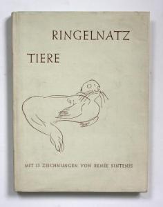 Tiere. Gedichte von Joachim Ringelnatz.