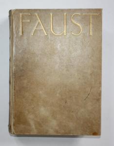 Faust. Eine Tragödie. Erster Teil. 2 Teile in 1 Band.