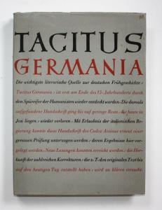 Tacitus Germania. Handschriftliche Untersuchungen zu Tacitus Agricola und Germania. Mit einer Fotokopie des Co