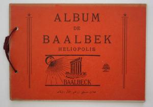 Album de Baalbek Heliopolis.