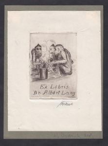 Exlibris für Albert Lang