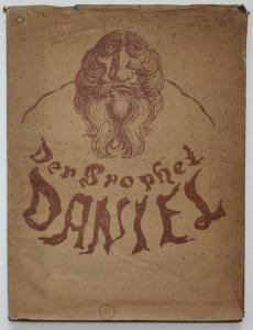 Der Prophet Daniel. Eine Folge mit zwölf Zeichnungen von Alfred Kubin.