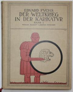 Der Weltkrieg in der Karikatur. Band 1: