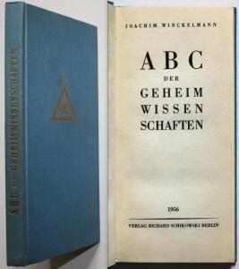 ABC der Geheimwissenschaften.