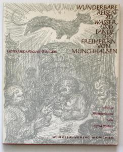 Wunderbare Reisen zu Wasser und Lande Feldzüge und lustige Abenteuer des Freiherrn von Münchhausen.