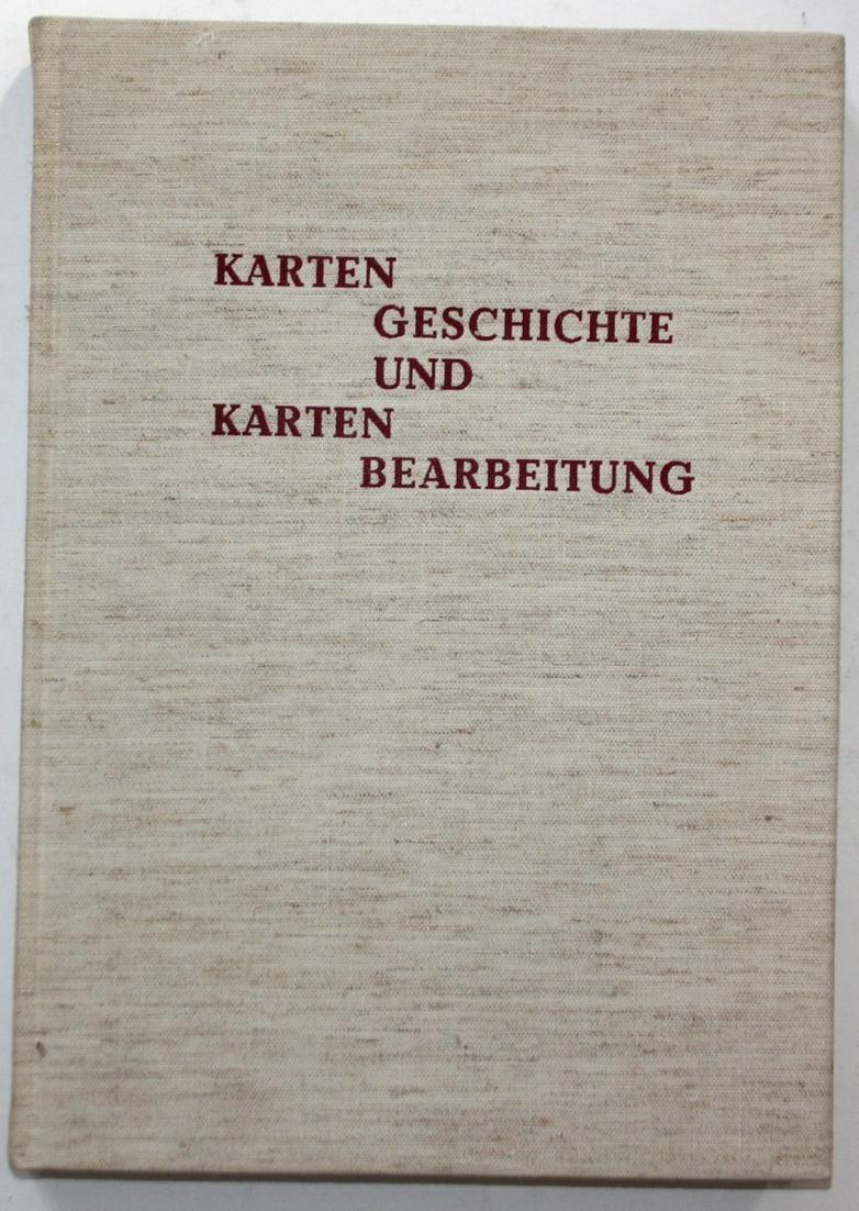Kartengeschichten und Kartenbearbeitung. Festschrift zum 80. Geburtstag von Wilhelm Bonacker, Geograph und Wis 0