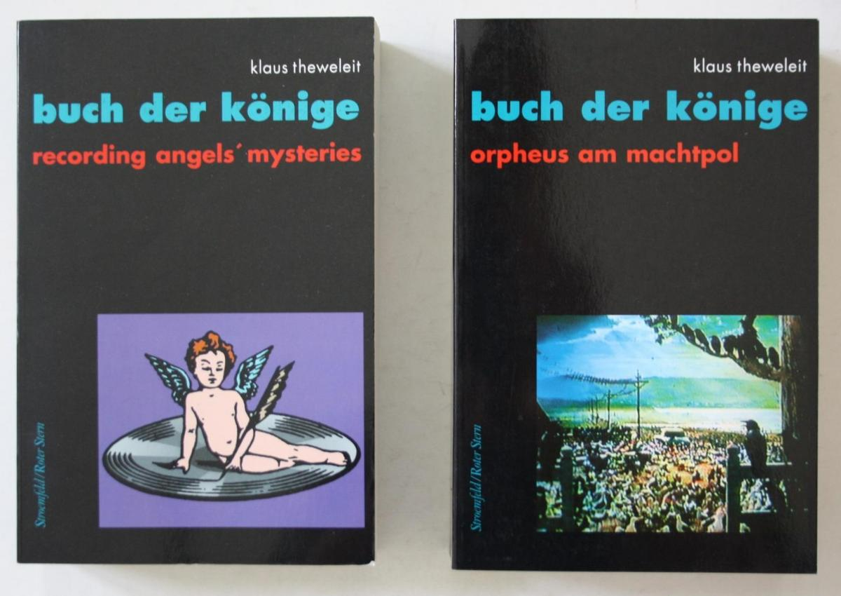 Buch der Könige. Band 2 y: Recording angels' mysteries. - Band 2x: Orpheus am Nordpol. -- 2 Bände. 0