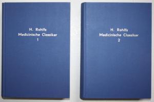 Die Medicinischen Classiker Deutschlands. Erste und zweite Abtheilung. Reprint der Ausgabe von 1875 - 80