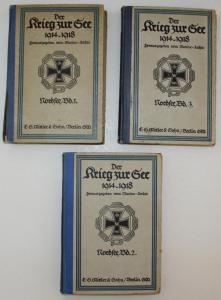 Der Krieg zur See 1914 - 1918. Nordsee. 3 Bände.
