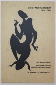 Ernst Moritz Engert 1892 Yokohama - Hadamar 1986. Eine Ausstellung der Joseph Fach GmbH Galerie und Kunstantiq