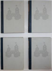 Lexikon der deutschen Burgen und Schlösser. 4 Bände. Standardwerk