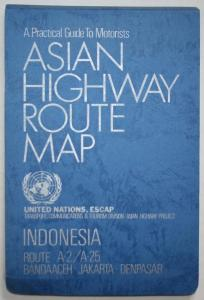 A Practical Guide to Motorists. Asian Highway Route Map. Indonesia. Route A-2 / A-25. Bandaaceh - Jakarta - De