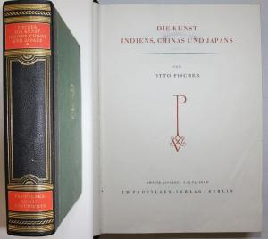 Die Kunst Indiens, Chinas und Japans. Zweite Auflage. 6. - 10. Tausend.