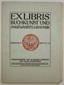 Exlibris Buchkunst und Angewandte Graphik. Jahrgang 27, Heft Nr. 3/4