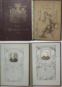 Festgabe Scorpionen Bund 1913. Zur Erinnerung an den IV Scorpionen Stiftstag 12 April 1913