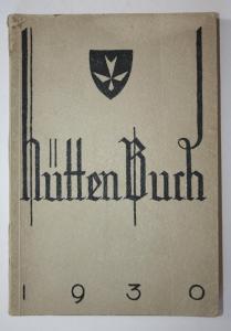 Hüttenbuch 1930.