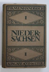 Firmenhandbuch Niedersachsen.