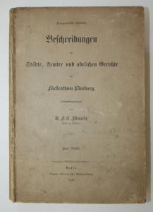 Topographisch-historische Beschreibungen der Städte, Aemter und adelichen Gerichte im Fürstenthum Lüneburg. 2