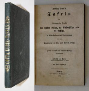 Tafeln zur Bestimmung des Inhaltes der runden Hölzer, der Klafterhölzer und des Reisigs, zu Maßreductionen und