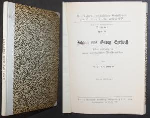 Johann und Georg Egestorff. Leben und Wirken zweier niedersächsischer Wirtschaftsführer. Heft 35.