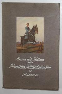 Ernstes und Heiteres vom Königl. Militär-Reit-Institut. Neuauflage von Auf Reitschule.