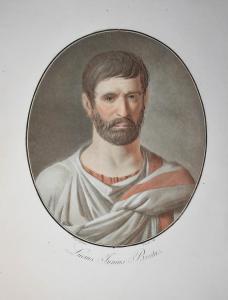 Lucius Iunius Brutus - Lucius Iunius Brutus founder Roman Republic Konsul Römische Republik Ancient Rome Portr