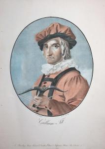 Guillaume-Tell - Wilhelm Tell Freiheitskämpfer freedom fighter Schweiz Suisse Switzerland Portrait Farbaquatin