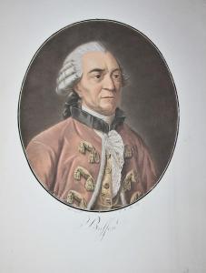 Buffon - Georges-Louis Leclerc Comte de Buffon (1707-1788) naturaliste Naturforscher ecrivain writer Portrait