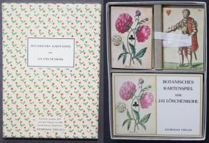 Botanisches Kartenspiel von Johann Hieronymus Löschenkohl. Faksimile Ausgabe 1978 nach dem Original von 1806 (