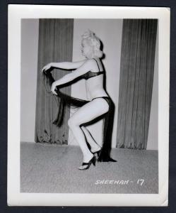 Sheenah Unterwäsche lingerie Erotik nude vintage Dessous pin up Foto photo