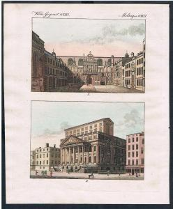 Guildhall Mansion House London England engraving Kupferstich Bertuch