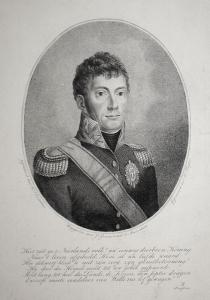 Hier ziet ge, o Neerlands volk!... - Wilhelm I. v. Niederlande (1772-1843) Nassau-Oranien-Fulda Weingarten Dor