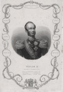 Willem II. - William II of the Netherlands (1792-1849) King König Niederlande Portrait