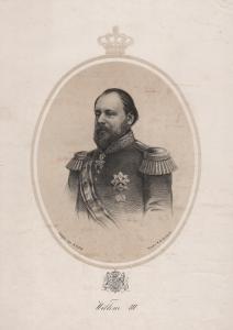 Willem III - William III of the Netherlands (1817-1890) King König Niederlande Portrait