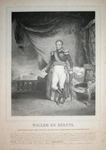 Willem de Eerste - Wilhelm I. Niederlande (1772-1843) König King Netherlands Portrait