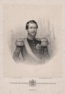 Willem III Koning der Nederlanden - William III of the Netherlands (1817-1890) King König Niederlande Portrait