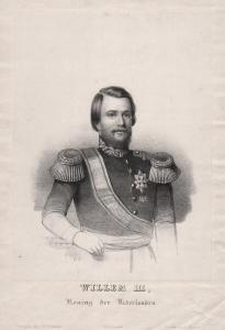 Willem III. - William III of the Netherlands King König Niederlande Portrait