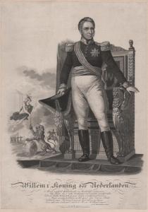 Willem I Koning der Nederlanden - William I of the Netherlands (1772-1843) King König Niederlande Portrait