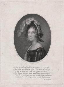 Haar, die, zich zelv gelyk in rampspoed... - Wilhelmine von Preußen (1774-1837) Queen of the Netherlands König