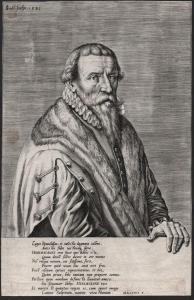 Leges Romulidum, et coelestia dogmata callens... - Christoph Herdesianus (1523-1585) Jurist Theologe Wittenber