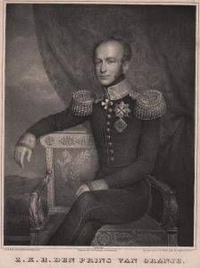 Z. K. H. de Prins van Oranje - Willem II. der Nederlanden (1792-1849) King König Niederlande Portrait