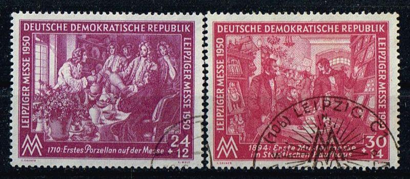 DDR Mi.Nr.248-49 gestempelt Frühjahrsmesse Leipzig Michelwert 26 Euro