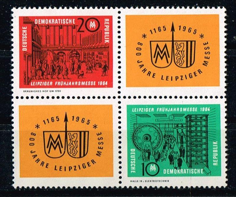 DDR Mi.Nr.!012-13ZD**postfrisch Frühjahrsmesse Leipzig Michelwert 25 Euro