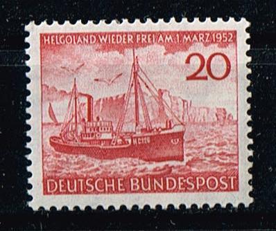 BRD Mi.Nr.152**postrisch Rückgabe der Insel Helgoland Michelwert 15 Euro