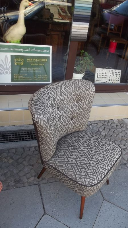 cocktailsessel 20er jahre. Black Bedroom Furniture Sets. Home Design Ideas